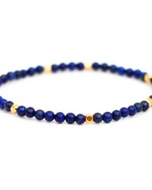 Dainty Lapis Lazuli Bracelet