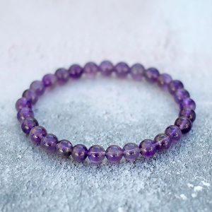 Amethyst Bracelet 6mm