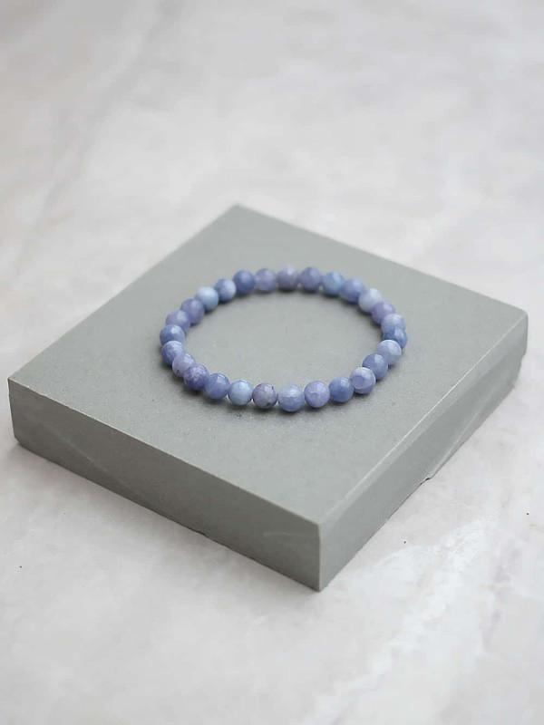 Angelite Bracelet 6mm