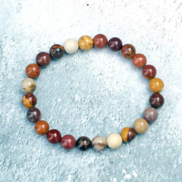 Australian Mookaite Bracelet