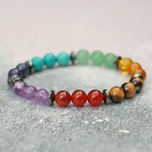 36a770d4fa6 7 Chakra Bracelet - Spirit Connexions Made In The UK