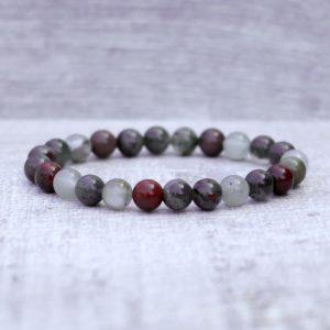 African Bloodstone Bracelet