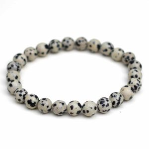 Dalmatian Jasper Stone Bracelet