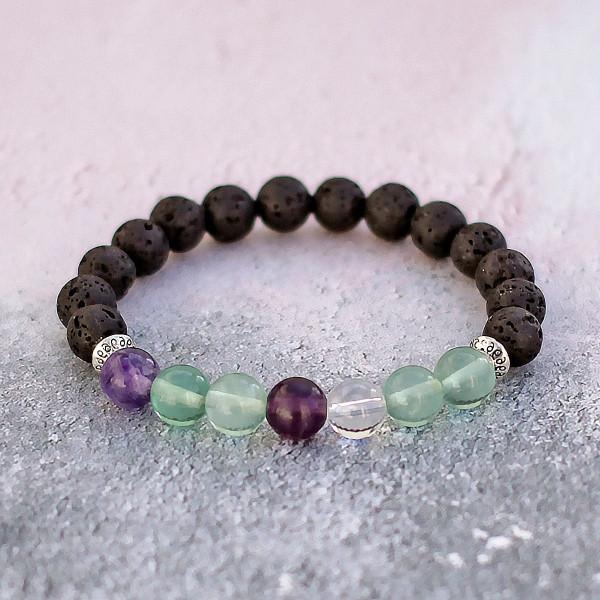 Fluorite Diffuser Bracelet