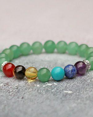 Green Aventurine Chakra Balancing Bracelet