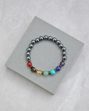 Hematite Chakra Bracelet