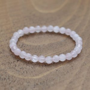 Rose Quartz Bracelet 6mm