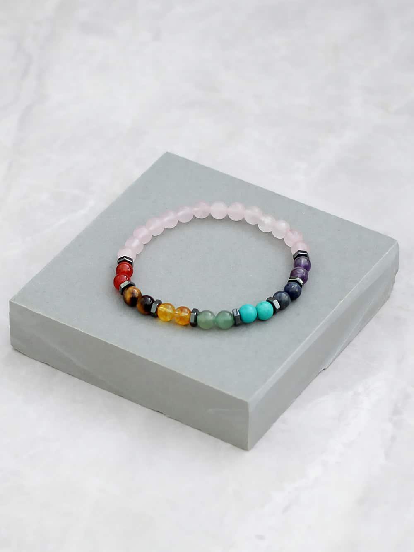 Rose Quartz Chakra Bracelet 6mm