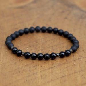 6mm Black Onyx Bracelet