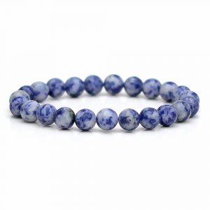 Blue Spot Jasper Stone Bracelet