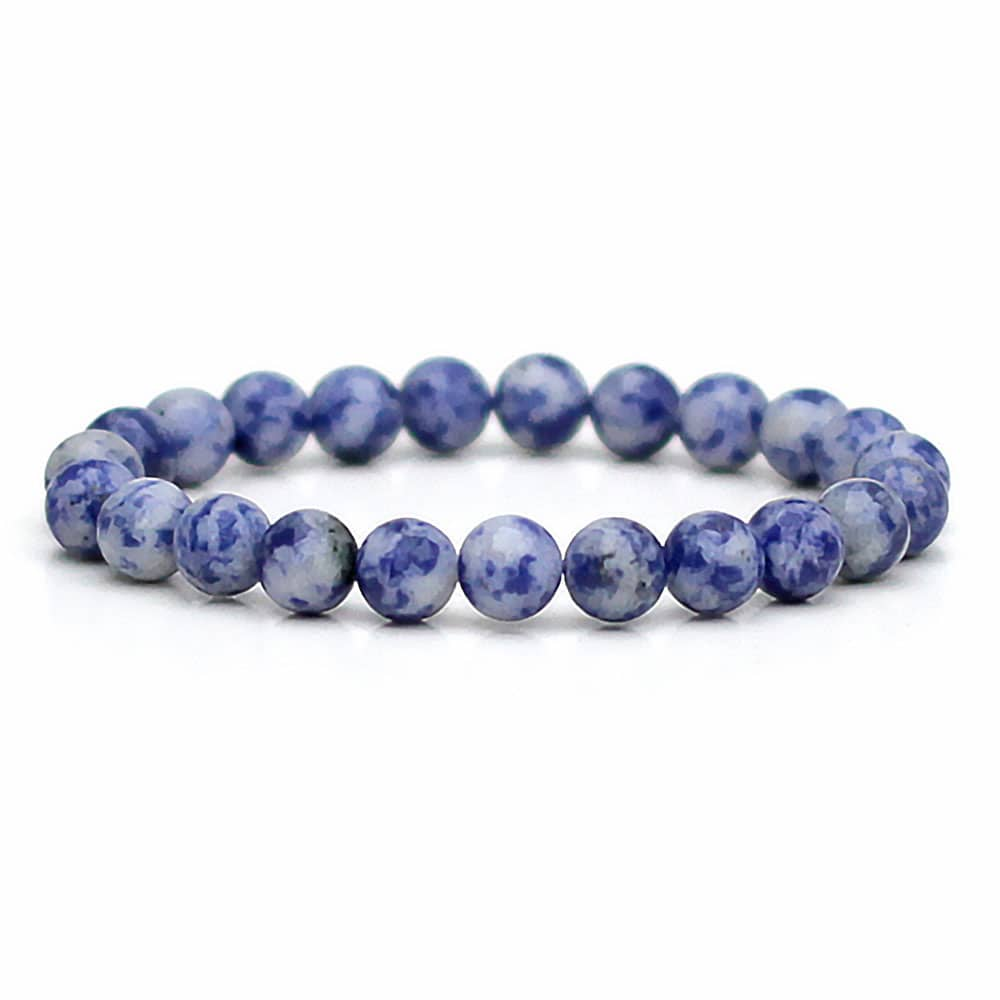 blue accessories bracelets bracelet base stone bead