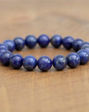Chunky Lapis Lazuli Bracelet