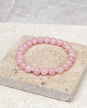 Rose Quartz Bracelet 8mm