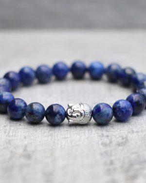 Lapis Lazuli Buddha Bracelet