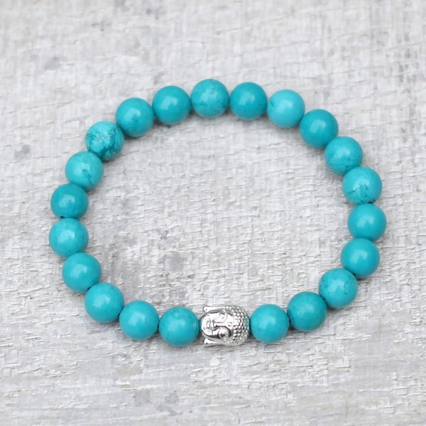Turquoise Buddha Bracelet by Spirit Connexions