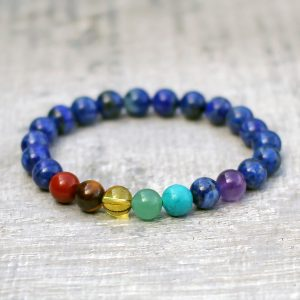Lapis Lazuli Chakra Bracelet