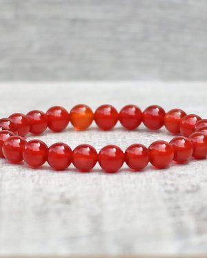 Carnelian Bracelet – Dyed