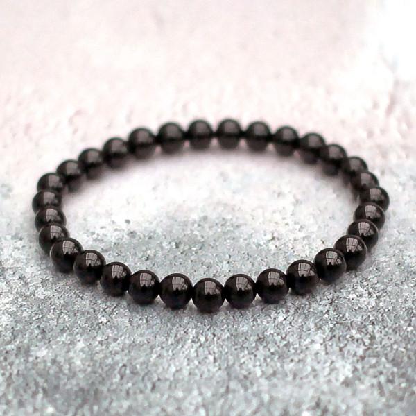 Black Tourmaline Bracelet 6mm