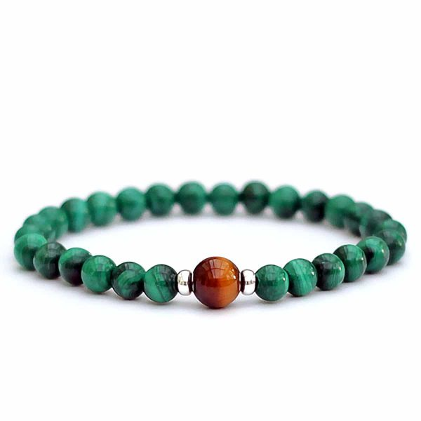 Malachite Tigers Eye Bracelet