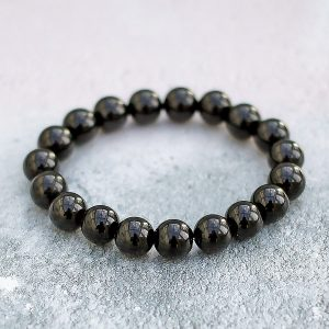 Black Tourmaline Bracelet 10mm