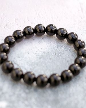 Black Tourmaline Bracelet 10mm