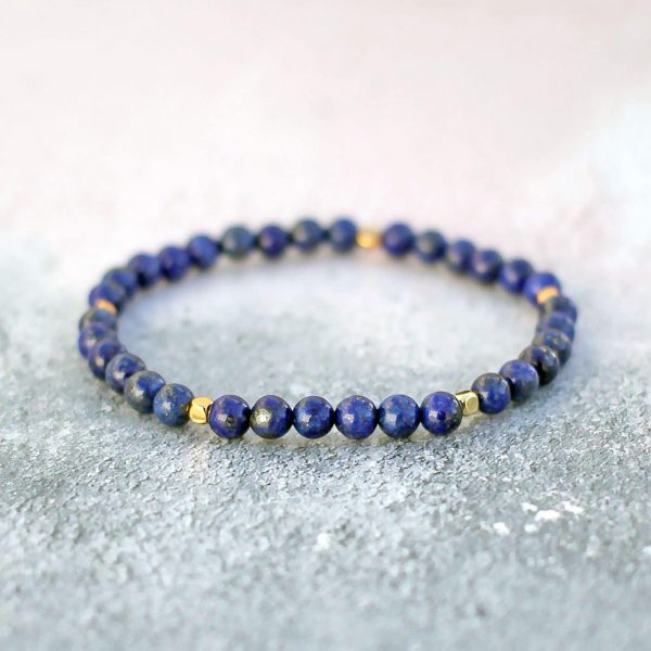 Lapis Lazuli 6mm Bracelet