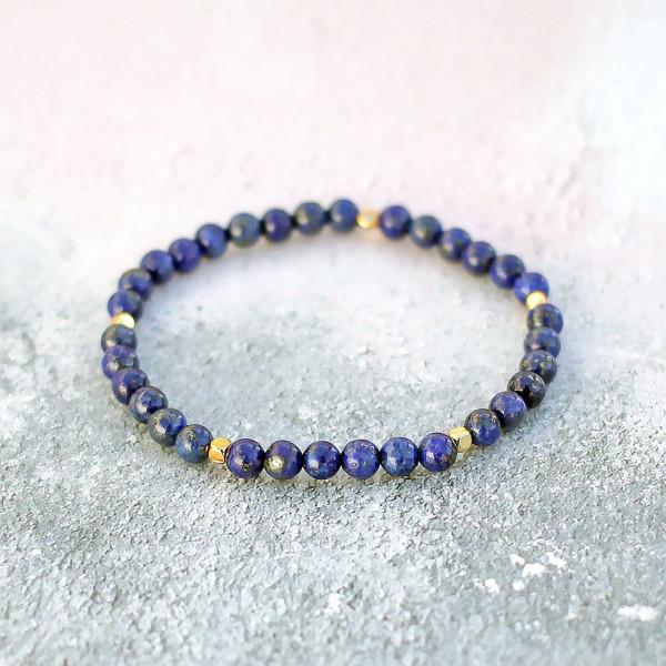 Lapis Lazuli Bracelet 6mm