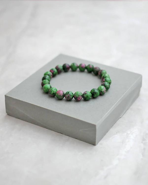 Ruby Zoisite Bracelet