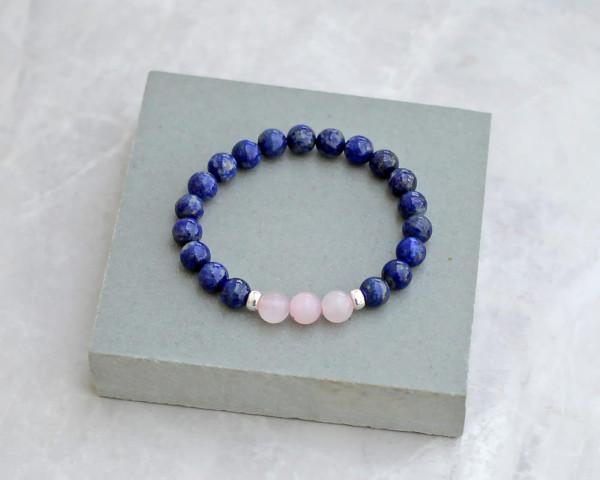 Lapis Lazuli Rose Quartz