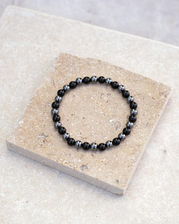 Black Onyx Hematite