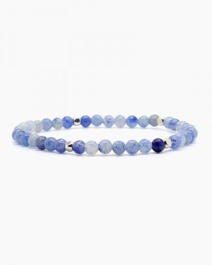 Dainty Blue Aventurine Bracelet