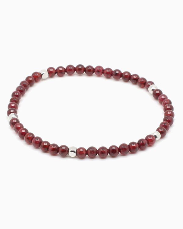 Dainty Garnet Bracelet
