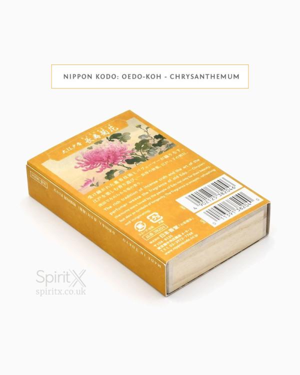 Nippon Kodo – Oedo Koh Chrysanthemum Incense Gift Set