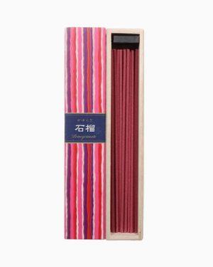 Kayuragi Pomegranate Incense Sticks by Nippon Kodo