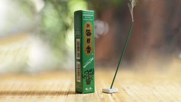 Morning Star Cedarwood Incense by Nippon Kodo