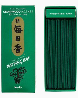 Morning Star Cedarwood Incense by Nippon Kodo