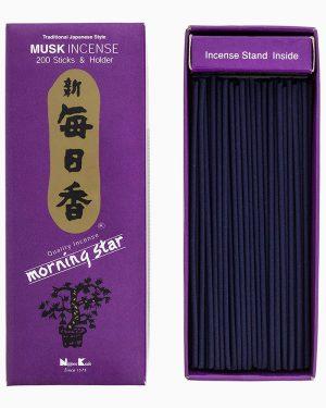 Morning Star Musk Incense by Nippon Kodo