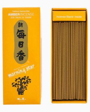 Morning Star Amber Incense by Nippon Kodo