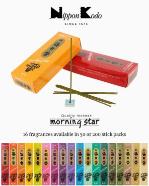 Nippon Kodo – Morning Star Incense Range