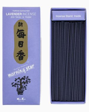 Morning Star Lavender Incense by Nippon Kodo