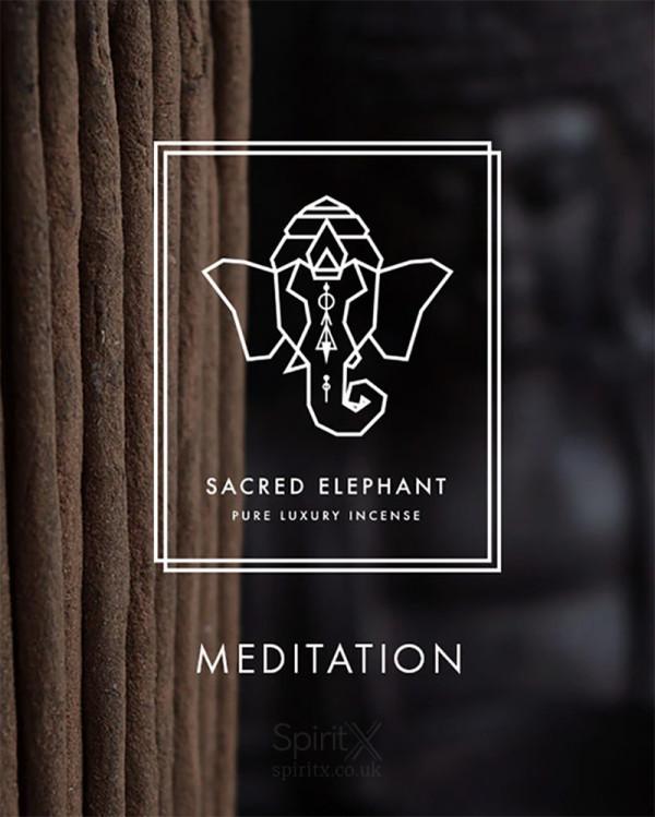Sacred Elephant Meditation Incense Set