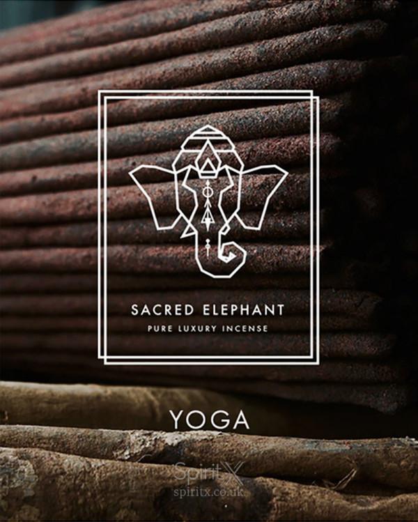 Sacred Elephant Yoga Incense Set
