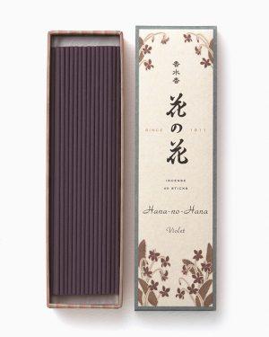 Hana No Hana Violet Incense Sticks
