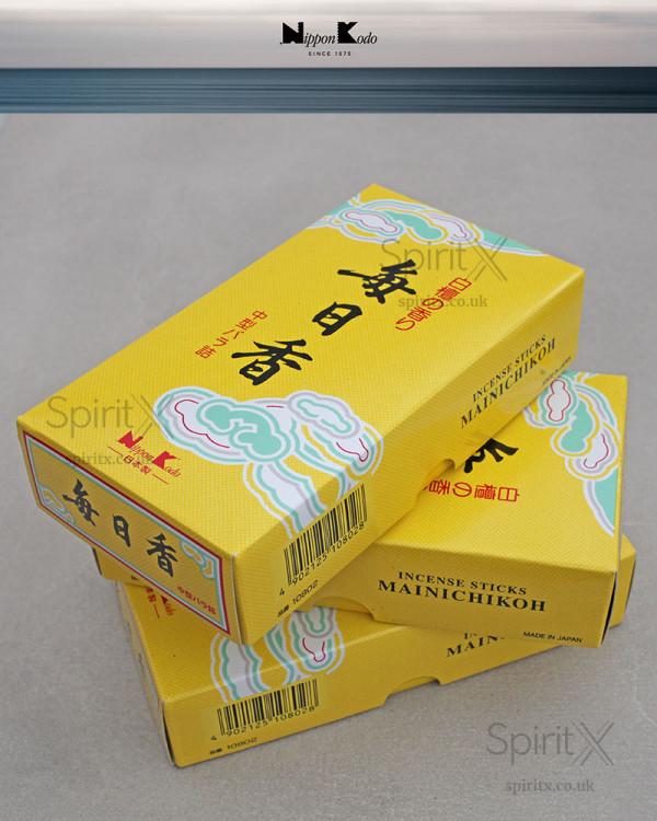 Nippon Kodo MAINICHI-KOH Sandalwood Incense Sticks