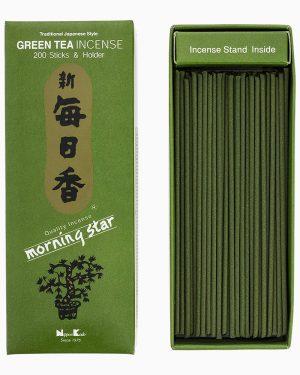 Morning Star Green Tea Incense by Nippon Kodo