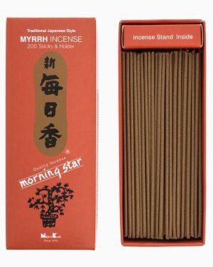 Morning Star Myrrh Incense by Nippon Kodo