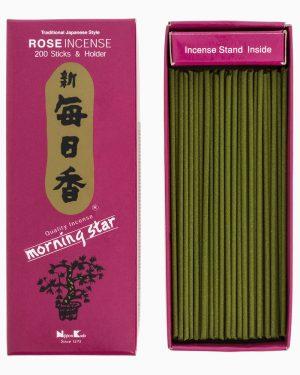 Morning Star Rose Incense by Nippon Kodo