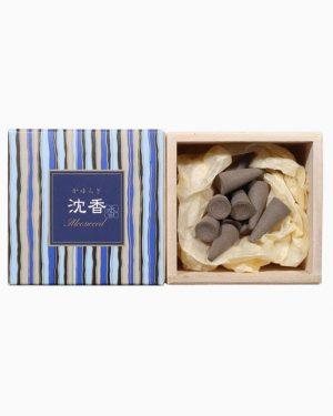 Kayuragi Aloeswood Incense Cones by Nippon Kodo