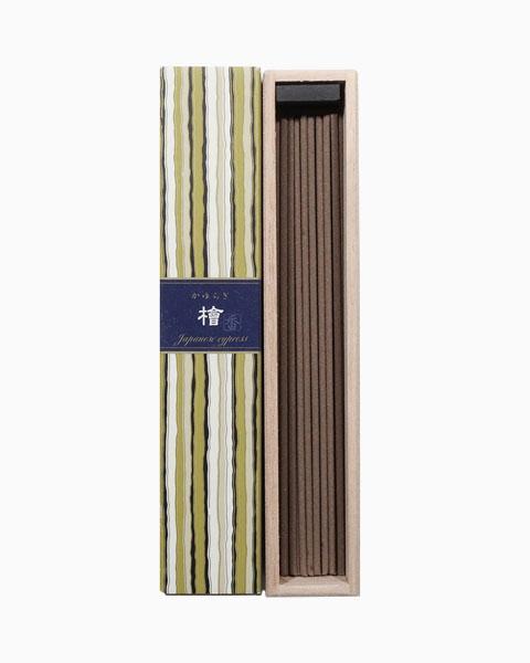 Kayuragi Japanese Cypress Incense Sticks by Nippon Kodo