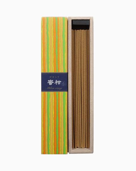 Kayuragi Mikan Orange Incense Sticks by Nippon Kodo